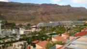 Blick von unserer Terrasse Richtung neu erbautem RADISSON BLU