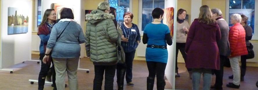 Gestrickte-Kunst-Ausstellung Ahrenshoop 2016