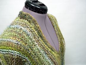 Ausschnitt-Lösung beim Lasso-Pullover